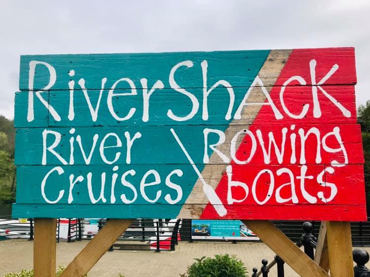 river boat sign
